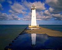 Pierhead Lighthouse, Lake Ontario, New York