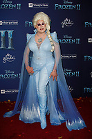 Hollywood, CA - NOV 07:  Nina West attends the world premiere of Disney's 'Frozen II' at the Dolby Theatre on November 7, 2019 in Los Angeles CA.   <br /> CAP/MPI/IS<br /> ©IS/MPI/Capital Pictures
