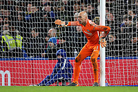 Chelsea goalkeeper, Willy Caballero during Chelsea vs Hull City, Emirates FA Cup Football at Stamford Bridge on 16th February 2018