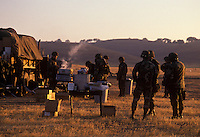 California National Guard training at Camp Roberts