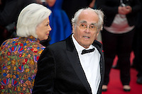 "Michel Legrand arrives for the screening of "" Jeune & Jolie "" directed Francois Ozon at the Palais of Festivals during the 66th Annual Cannes Film Festival in Cannes  .Cannes 18/5/2013 .Festival del Cinema di Cannes .Foto Panoramic / Insidefoto .ITALY ONLY"