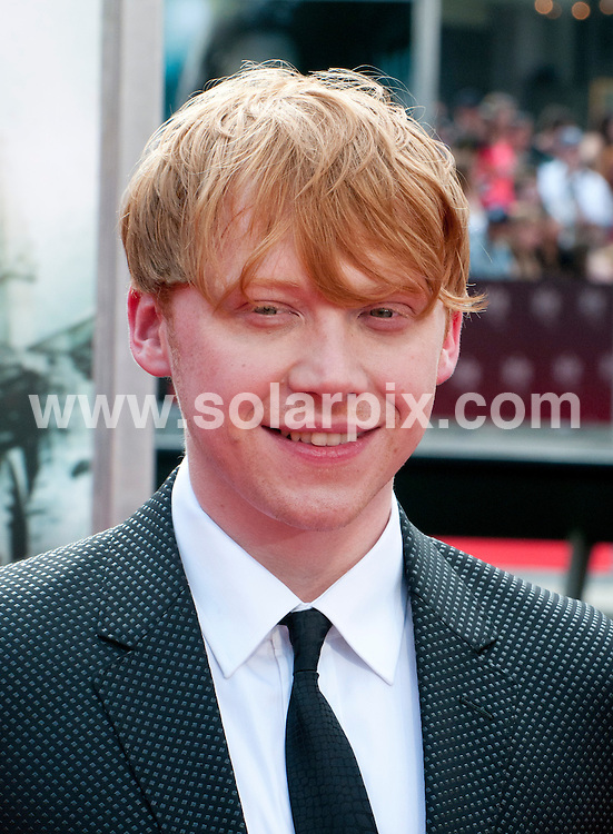 **ALL ROUND PICTURES FROM SOLARPIX.COM**                                             **UK SYNDICATION RIGHTS ONLY**    .Caption: New York premiere of Harry Potter And The Deathly Hallows: Part 2. Held at the Avery Fisher Hall, Lincoln Center, New York , USA. July 11, 2011.                                                                         This pic: Rupert Grint                                                                                JOB REF: 13693 RHB       DATE: 11_07_2011                                                           **MUST CREDIT SOLARPIX.COM OR DOUBLE FEE WILL BE CHARGED**                                                                      **MUST AGREE FEE BEFORE ONLINE USAGE**                               **CALL US ON: +34 952 811 768 or LOW RATE FROM UK 0844 617 7637**