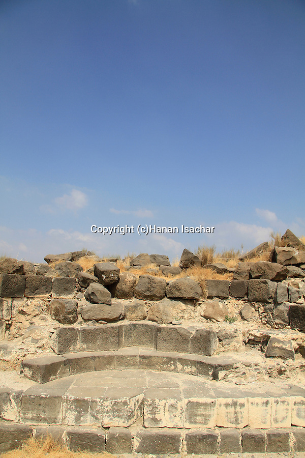 Golan Heights, the Kalybe, a RomanTemple for the cult of the emperors at Hippos on Mount Susita