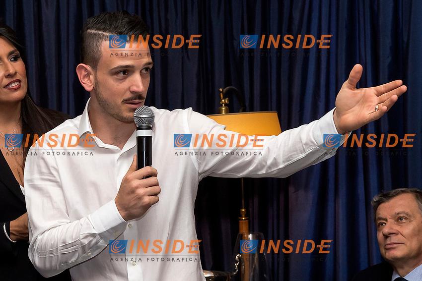 Alessandro Florenzi <br /> Roma 30-05-2017 Circolo Canottieri Aniene <br /> Premi Ussi 2017 Foto Andrea Staccioli / Insidefoto
