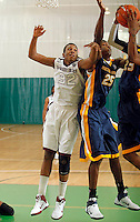 April 10, 2011 - Hampton, VA. USA;  Isaiah Miles participates in the 2011 Elite Youth Basketball League at the Boo Williams Sports Complex. Photo/Andrew Shurtleff