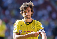 Fussball  1. Bundesliga  Saison 2013/2014   FC Augsburg - Borussia Dortmund      10.08.2013  Mats Hummels (Borussia Dortmund)