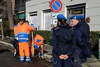 Detenuti al lavoro nelle strade di Roma
