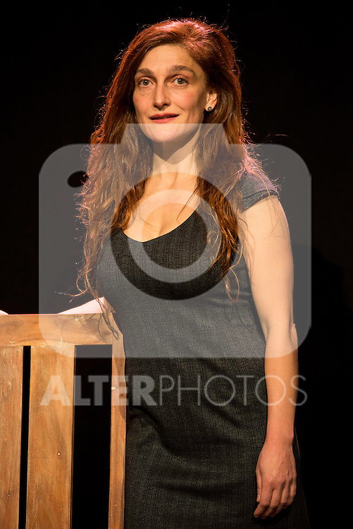 Adriana Davidova during the theater play of &quot;Hacia el amor&quot; at Teatros Luchana in Madrid, March 01, 2016<br /> (ALTERPHOTOS/BorjaB.Hojas
