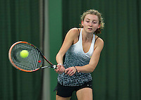Rotterdam, The Netherlands, March 11, 2016,  TV Victoria, , NOJK 12/16 years, Emma Goedkoop<br /> Photo: Tennisimages/Henk Koster