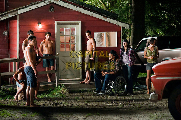 ALEX MERAZ, BOOBOO STEWART, KIOWA GORDON, TYSON HOUSEMAN, BRONSON PELLETIER, GIL BIRMINGHAM, TINSEL KOREY & JULIA JONES .in The Twilight Saga: Eclipse.*Filmstill - Editorial Use Only*.CAP/PLF.Supplied by Capital Pictures.