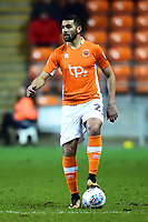 Blackpool's Colin Daniel in action<br /> <br /> Photographer Richard Martin-Roberts/CameraSport<br /> <br /> The EFL Sky Bet League One - Blackpool v Charlton Athletic - Tuesday 13th March 2018 - Bloomfield Road - Blackpool<br /> <br /> World Copyright &not;&copy; 2018 CameraSport. All rights reserved. 43 Linden Ave. Countesthorpe. Leicester. England. LE8 5PG - Tel: +44 (0) 116 277 4147 - admin@camerasport.com - www.camerasport.com