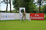 Retief Goosen (RSA) teeing off on the 9th tee during the Pro-Am Day of the BMW International Open at Golf Club Munchen Eichenried, Germany, 22nd June 2011 (Photo Eoin Clarke/www.golffile.ie)