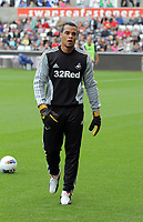Pictured: Michel Vorm of Swansea City. Saturday 17 September 2011<br /> Re: Premiership football Swansea City FC v West Bromwich Albion at the Liberty Stadium, south Wales.