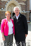 Parents Elma and Finbarr  Walsh at the Dominican Church Special ceremony to mark Donal Walsh 2nd anniversary