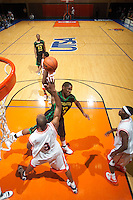 SAN ANTONIO, TX - FEBRUARY 8, 2007: The Southeastern Louisiana University Lions vs. The University of Texas at San Antonio Roadrunners Men's Basketball at the UTSA Convocation Center. (Photo by Jeff Huehn)