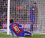 11.01.2017 Barcelona, Copa del Rey 1/8 Finals. Picture show Luis Suarez and Leo Messi in action during game between FC Barcelona against Athelic at Camp Nou