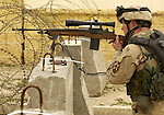 Sniper during a March 2004 mission.