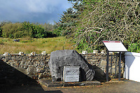 The site of the Donnelly home where the family perished during the moving bog near Gneeveguilla in County Kerry photographed in 2012..Picture by Don MacMonagle