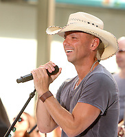 Kenny Chesney at NBC's Today Show during the Toyota Concert Series in New York City. June 22, 2012. © RW/MediaPunch Inc. NORTEPHOTO.COM<br />