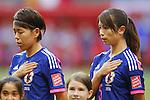 (L-R) Azusa Iwashimizu, Aya Sameshima (JPN),JUNE 23, 2015 - Football / Soccer : <br /> FIFA Women's World Cup Canada 2015 round 16 match Japan 2-1 Netherlands at BC Place, Vancouver, Canada. (Photo by Yusuke Nakanishi/AFLO SPORT)
