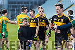 Shane Doolan and Fionn FitzgeraldDr. Crokes players and supporters celebrate defeating Corofin in the Semi Final of the Senior Football Club Championship at the Gaelic Grounds, Limerick on Saturday.