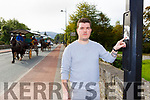 Gearoid Murphy Killarney who was appalled to find racism stickers stuck on to poles on the Muckross Road one of the most traveled tourism routes in the country