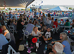 A photograph taken at the VIP tent during Hot August Nights at the Grand Sierra Resort in Reno, Nevada on Friday, August 11, 2017.