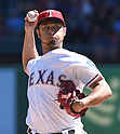 Yu Darvish (Rangers),<br /> APRIL 23, 2017 - MLB :<br /> Texas Rangers starting pitcher Yu Darvish pitches during the Major League Baseball game against the Kansas City Royals at Globe Life Park in Arlington in Arlington, Texas, United States. (Photo by AFLO)