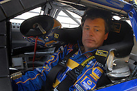 Feb 10, 2007; Daytona, FL, USA; Nascar Nextel Cup driver Michael Waltrip (55) during practice for the Daytona 500 at Daytona International Speedway. Mandatory Credit: Mark J. Rebilas