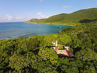 Reef Bay plantation ruins<br />