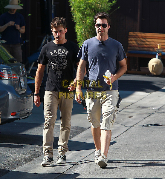 September 9 2014 Zac Efron Filming his new movie &quot;We are your Friends&quot; in Los Angeles California <br /> CAP/MPI/Misa<br /> &copy;Misa/MPI/Capital Pictures