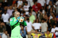 Football: Uefa under 21 Championship 2019, England - France, Dino Manuzzi stadium Cesena Italy on June18, 2019.<br /> France's goalkeeper Paul Bernardoni celebrates after winning 2-1 the Uefa under 21 Championship 2019 football match between England and France at Dino Manuzzi stadium in Cesena, Italy on June18, 2019.<br /> UPDATE IMAGES PRESS/Isabella Bonotto