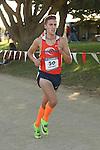 November 2, 2013; Malibu, CA, USA; Pepperdine runner Gordon Thomas (50) during the WCC Cross Country Championship at Alumni Park.