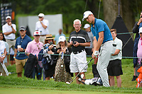 Jordan Spieth (USA) chips on to 11 during Rd4 of the 2019 BMW Championship, Medinah Golf Club, Chicago, Illinois, USA. 8/18/2019.<br /> Picture Ken Murray / Golffile.ie<br /> <br /> All photo usage must carry mandatory copyright credit (© Golffile | Ken Murray)