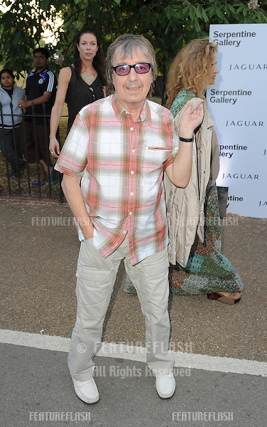 Bill Wyman arriving for the Serpentine Gallery Summer Party, Hyde Park, London. 08/07/2010  Picture by: Simon Burchell / Featureflash.