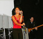 Karla Mosley performs at the 5th Annual Rock show for charity to benefit the American Red Cross on October 9, 2009 at the American Red Cross Headquarters, New York City, New York. (Photos by Sue Coflin/Max Photos)