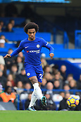 2nd December 2017, Stamford Bridge, London, England; EPL Premier League football, Chelsea versus Newcastle United; Willian of Chelsea
