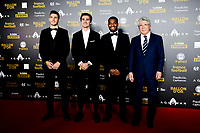 Lucas Hernandez / Antoine Griezmann / Thomas Lemar et Enrique Cerezo - president de l Athletico Madrid<br /> Parigi 3-12-2018 <br /> Arrivi Cerimonia di premiazione Pallone d'Oro 2018 <br /> Foto JB Autissier/Panoramic/Insidefoto <br /> ITALY ONLY