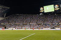 Chicago, IL, USA - Friday, June 10, 2016: A Copa America Centenario Group D match between Argentina (ARG) and Panama (PAN) at Soldier Field. Argentina won 5-0.