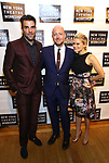 Zachary Quinto, John Tiffany and Celia Keenan-Bolger attends the 2018 New York Theatre Workshop Gala at the The Altman Building on April 16, 2018 in New York City