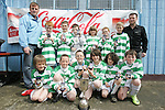 Donacarney Gladiators, Calum Garland, Mark Townley, Jake McGuinness, James McElarney, Niall Gates, Sean Leahy, Aaron Farrell, Adam Carvin, James Rice, Danny Taylor-Rooney, Greg McGill and Luke Brosnan with their managers Ray Farrell and Donal Townley at the School Childrens Soccer Cup Finals in United Park...Photo NEWSFILE/Jenny Matthews.(Photo credit should read Jenny Matthews/NEWSFILE)....This Picture has been sent you under the condtions enclosed by:.Newsfile Ltd..The Studio,.Millmount Abbey,.Drogheda,.Co Meath..Ireland..Tel: +353(0)41-9871240.Fax: +353(0)41-9871260.GSM: +353(0)86-2500958.email: pictures@newsfile.ie.www.newsfile.ie.FTP: 193.120.102.198.