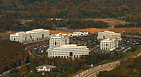 Aerial image of the Whitehall Corporate Center in Charlotte, NC