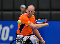 December 17, 2014, Rotterdam, Topsport Centrum, Lotto NK Tennis, Ronald Vink (NED)<br /> Photo: Tennisimages/Henk Koster