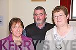 At the Comhailti?s County Board AGM at the Ceolann Centre Lixnaw on Sunday were Eilish Meehan, Ardfert - Kilmoyley, Alf Neville, Listowel and Elizabeth O'Riordan, Ardfert-Kilmoyley....   Copyright Kerry's Eye 2008