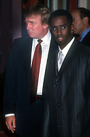 Donald Trump Sean Combs 1997<br /> Photo By John Barrett/PHOTOlink.net