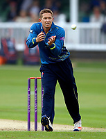Joe Denly fields for kent during the Royal London One Day Cup game between Kent and Glamorgan at the St Lawrence Ground, Canterbury, on May 25, 2018
