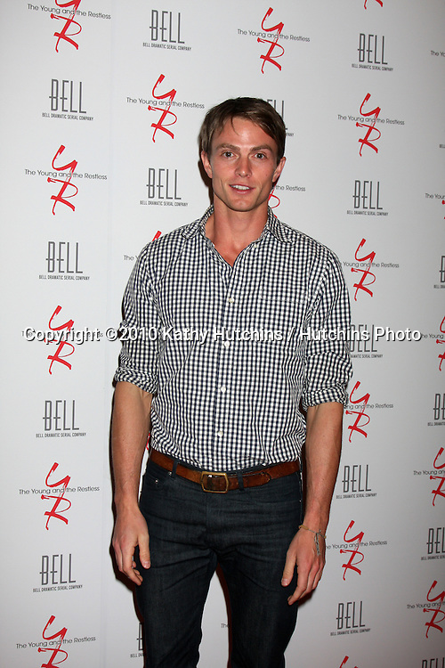 Ryder Fisher.arrivng at The Young & The Restless 37th Anniversary Dinner.Via Allorro.Beverly Hills, CA.March 9, 2010.©2010 Kathy Hutchins / Hutchins Photo....