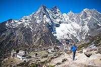 Trekking in the Gokyo Valley, Nepal