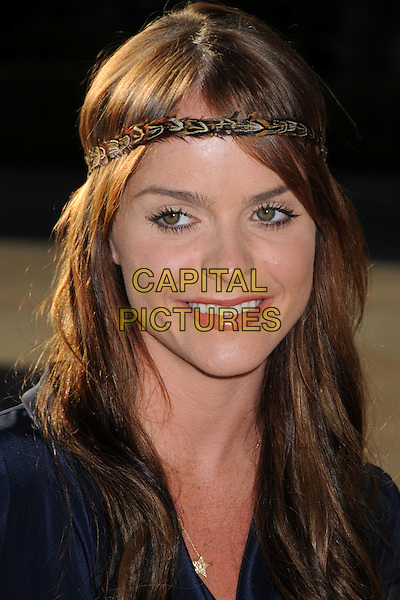 """TARYN MANNING .Series Premiere Screening of """"Sons of Anarchy"""" at Paramount Studios, Hollywood, California, USA, .24 August 2008.portrait headshot head band hairband headband blue star necklace .CAP/ADM/BP.©Byron Purvis/Admedia/Capital PIctures"""