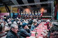 Team SportVlaanderen-Baloise team presentation<br /> <br /> 35th Tro Bro Leon 2018<br /> 1 Day Race: Le Carpont - Lannilis (FRA/203km)